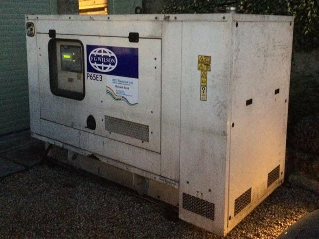 Lindrick Electrical Generator Installation
