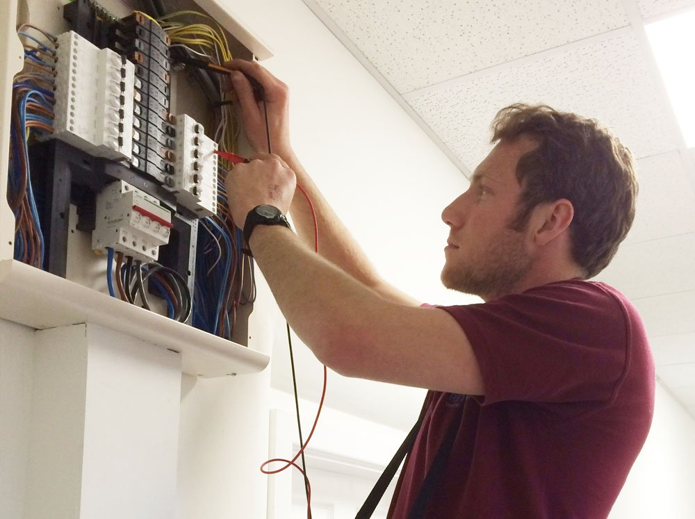 Full Rewire of an Accommodation Building in a Sheffield School